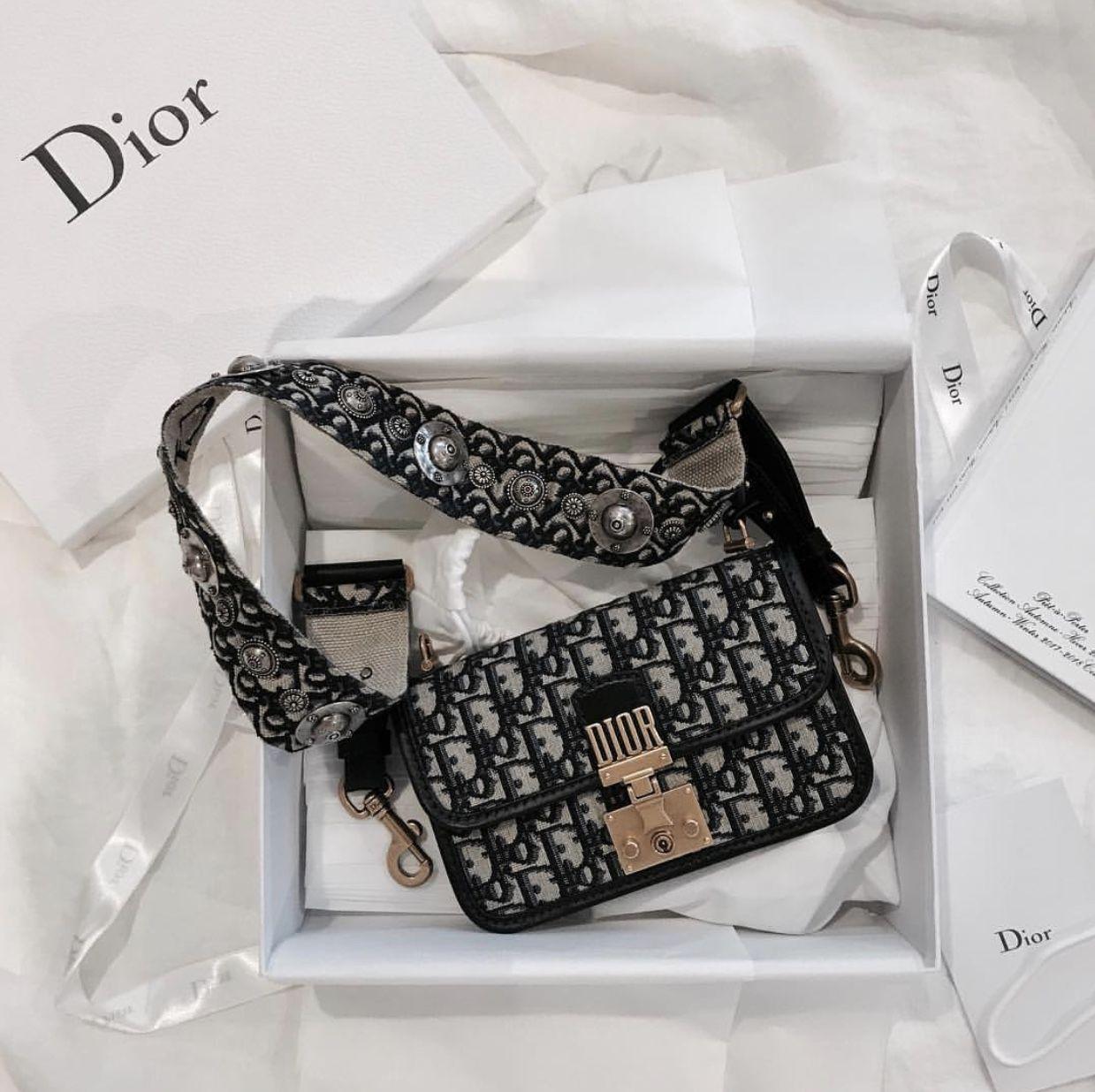 43b6e9ee09 Dior Addict Flap Bag in Dior Oblique Canvas