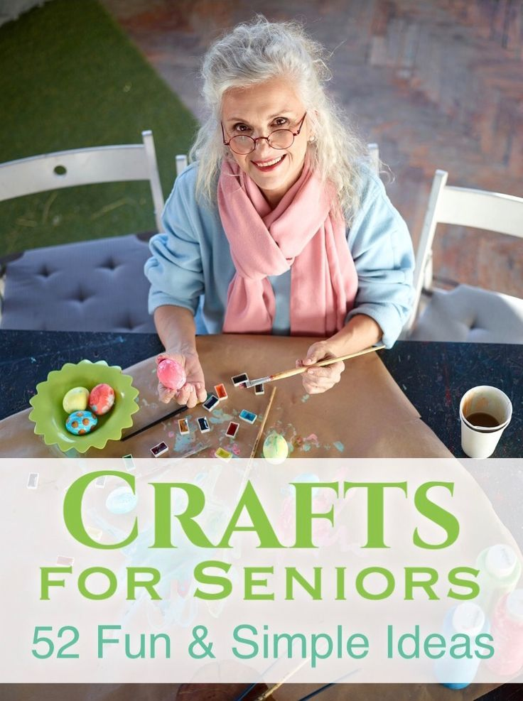 Here Are 52 Inspiring Craft Ideas for the 55-Plus Crowd