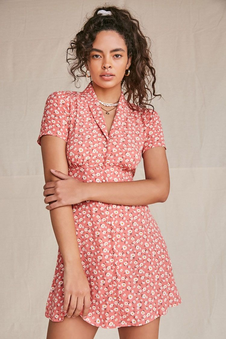 Daisy Fit Flare Dress Forever 21 Fit Flare Dress Flare Dress Dresses [ 1125 x 750 Pixel ]