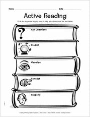 graphic organizers for reading comprehension   Reading Graphic ...