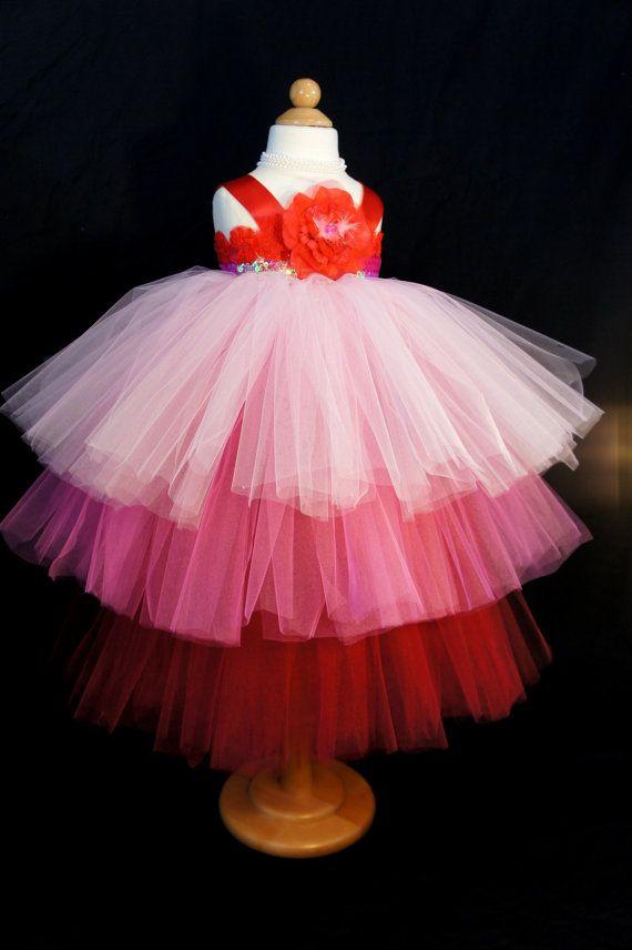 9a3570c34 3 Layered Tutu Dress | Tutu dresses | Tutu costumes kids, Pink tutu ...