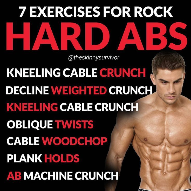 How do you build Rock Hard Abs?ㅤ1. Have a low body fat percentage: In order to... - Healthy & Fitne...