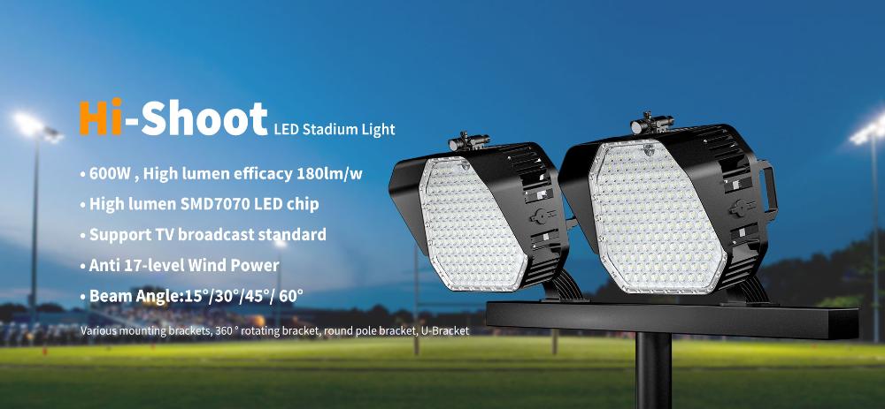 Fifa Led Stadium Light Smart System Supplier In Bolivia Hishine Football Lights Stadium Lighting Smart System
