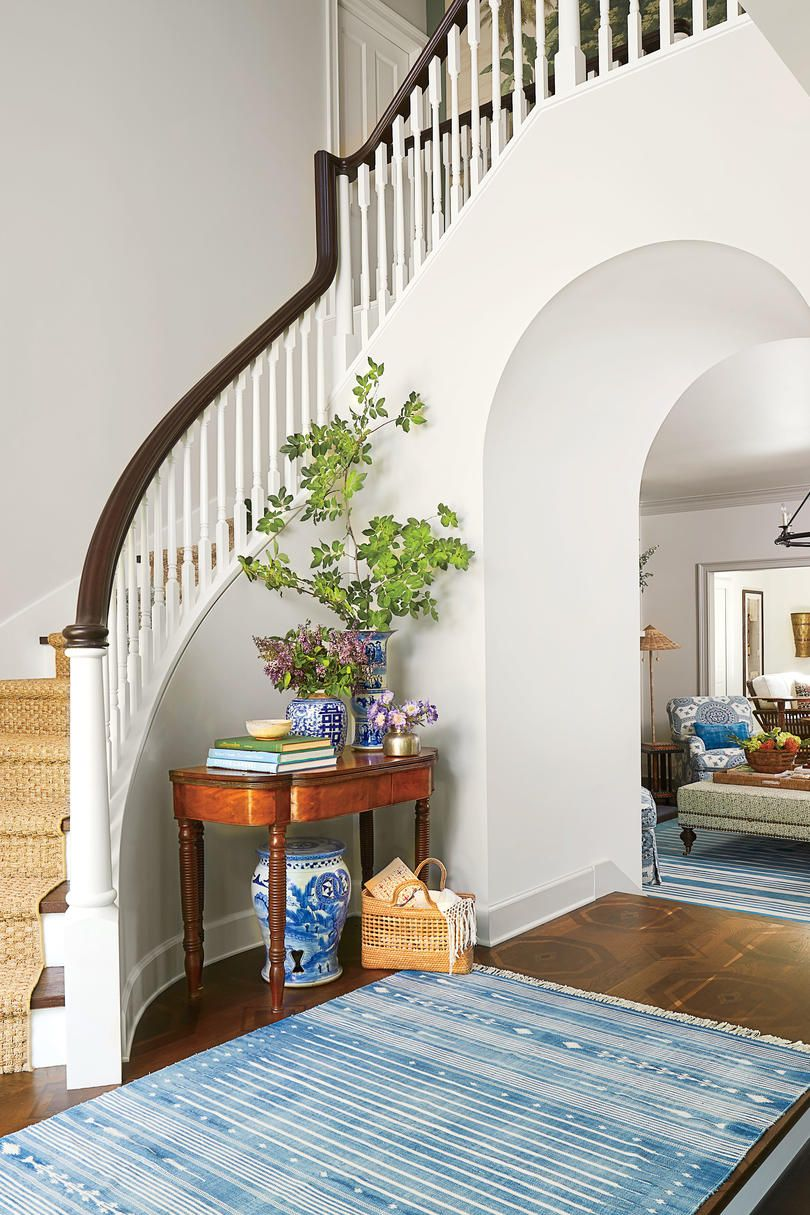 Our Biggest Before and After of All Time   Foyers   Southern