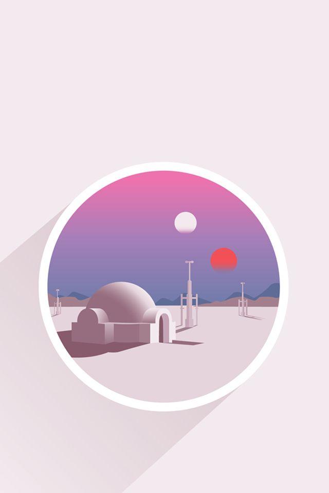 Tatooine Star Wars Poster Star Wars Background Star Wars Wallpaper