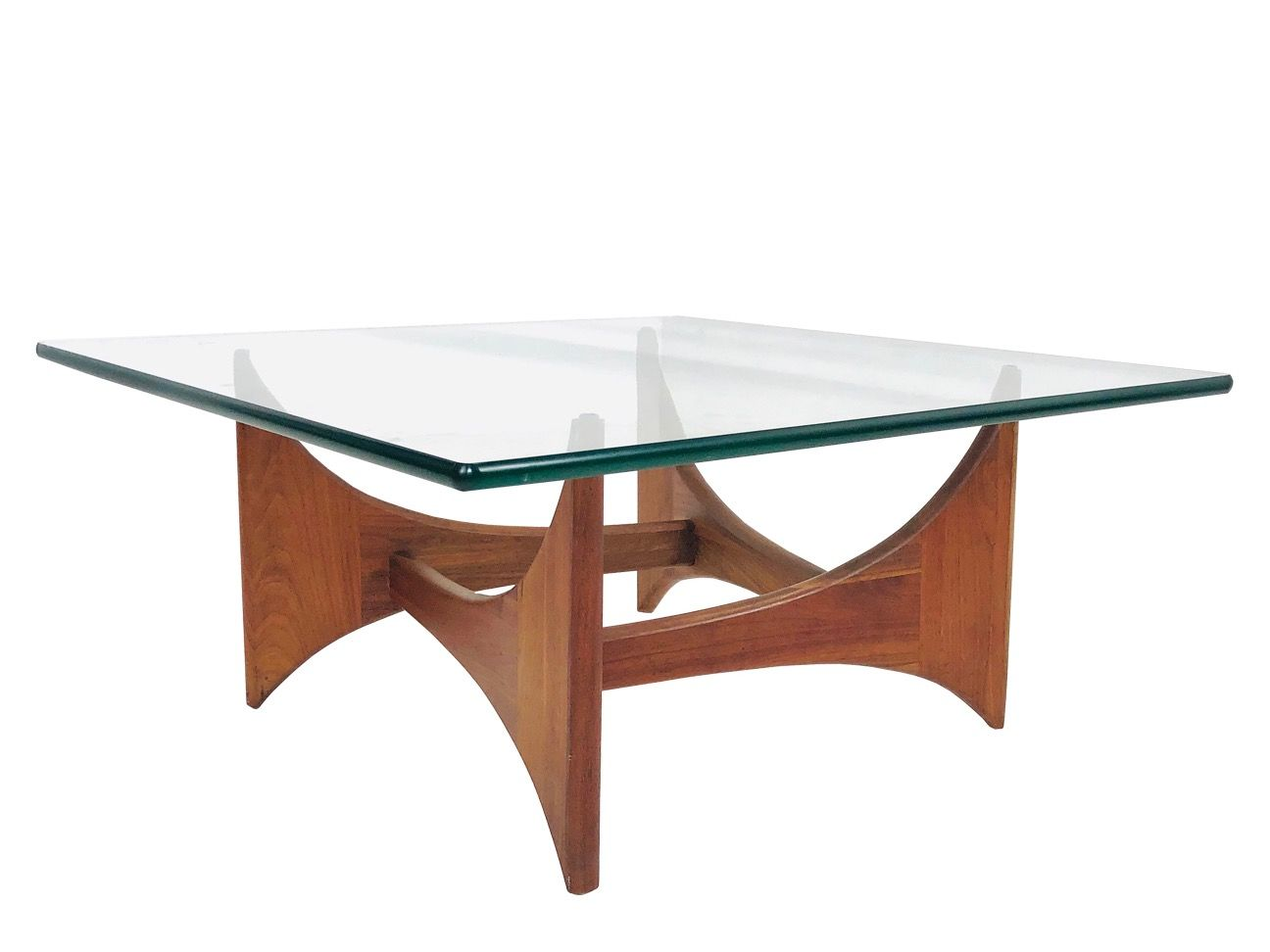 3904 Walnut Adrian Pearsall Square Coffee Table For Craft Coffee