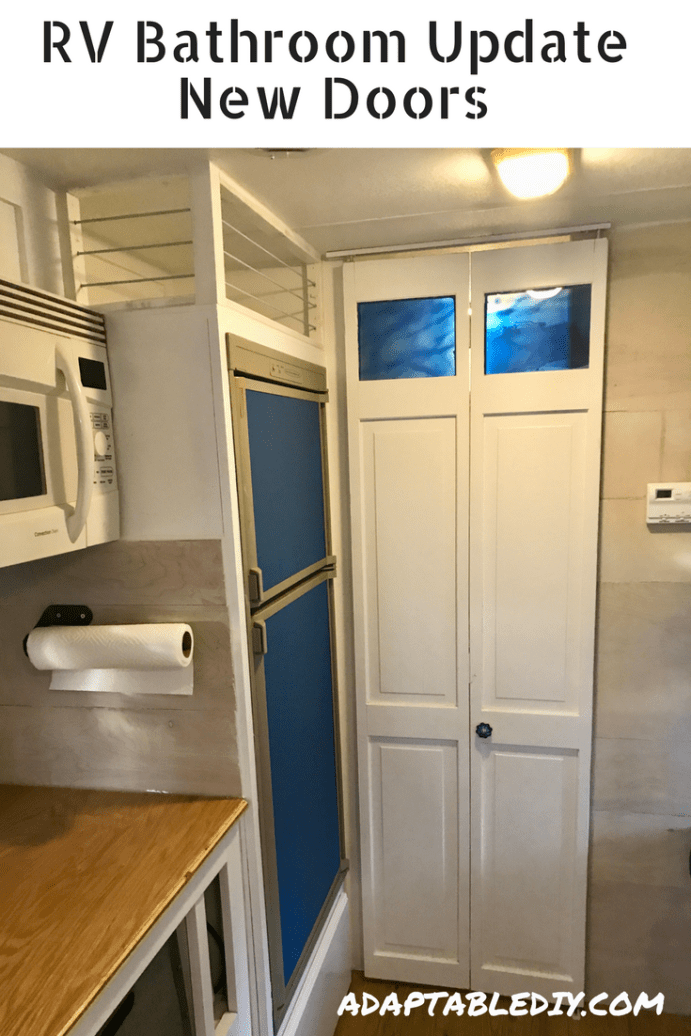Rv Accordion Door Update Rv Renovation Tips And Ideas Pinterest