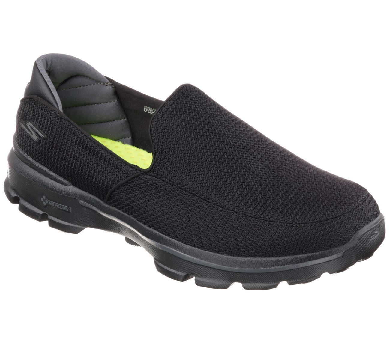 Skechers GOwalk 3 - Navy Slip-On Comfort Walking Sneaker