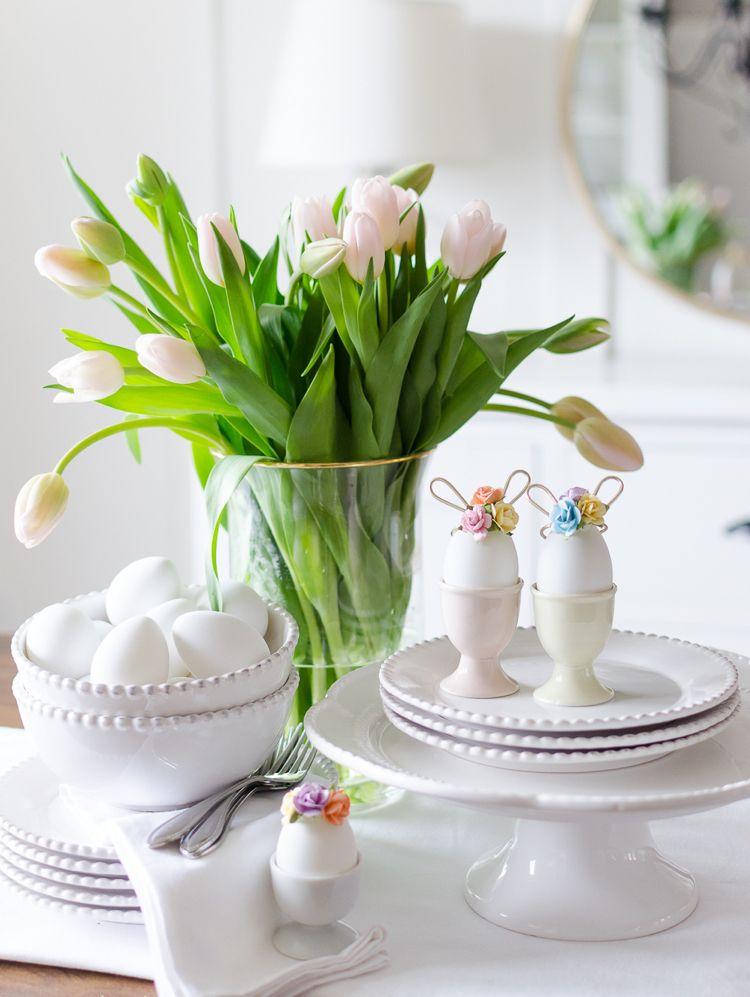 Basteln Draht Ostern Ostereier Deko Kreativ Spring Ideas Ostern