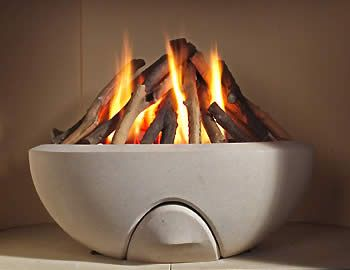 Ikon Fire Bowl Made Of Portland Stone Gorgeous Fire Bowls Portland Stone Front Room