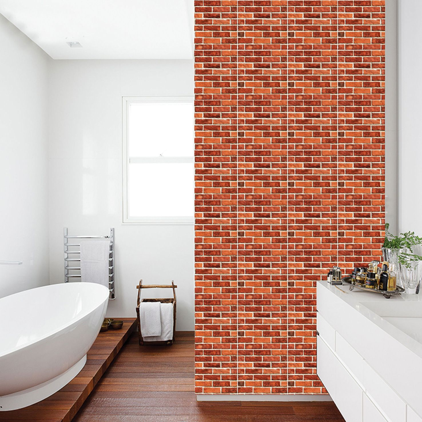 Stone Art 3d Wall Brick Sticker Self Adhesive Removable Wall Du00e9cor For Bathroom Bedroom Living Room Bathroom Wall Panels Wall Stickers Tiles 3d Wall Panels