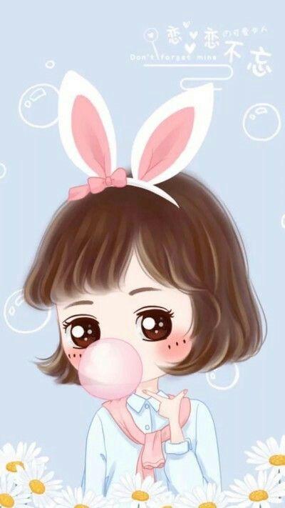 Cute Little Love Couple Hd Wallpaper Pin Oleh Sany Gonz 225 Lez Di Im 225 Genes Bonitas Chibi Girl