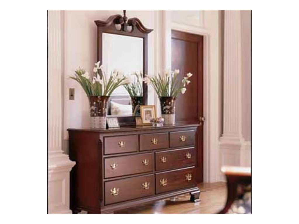Kincaid Furniture Bedroom Double Dresser 60 110   Tip Top Furniture    Freehold, NY