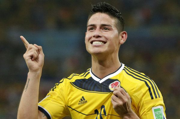 James Rodriguez Es Un Futbolista Colombiano Que Juega En El Real Madrid James Rodriguez James Rodriguez Colombia World Cup