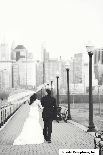 Liberty State Park  Bride and Groom First Look photos