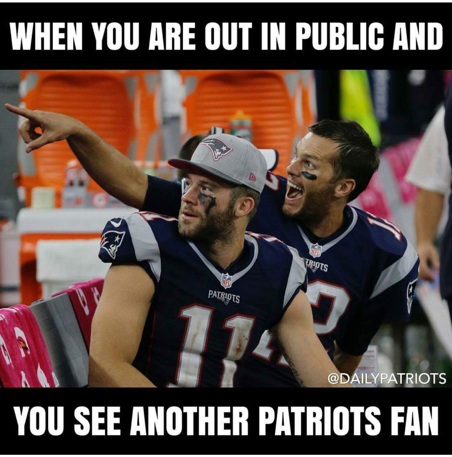 17017154 1835648790035900 4443137077103509965 O Jpg 1440 1455 With Images New England Patriots Football Patriots Memes Patriots Football