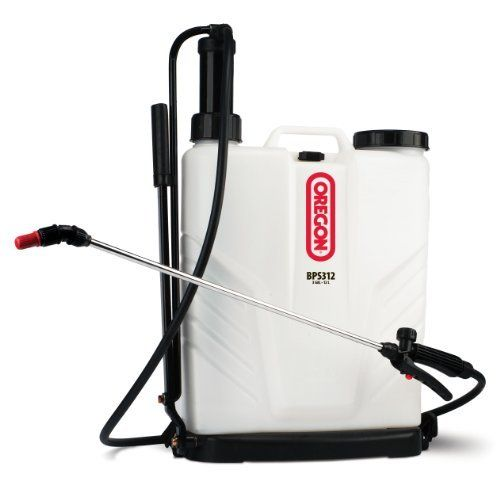 Oregon 37 600 3 Gallon Backpack Sprayer By Oregon 75 00 Alternate Part Bps312 Contains A Hydraulic Agitator And A Santoprene Pump Seal 9 Stroke Diaphragme