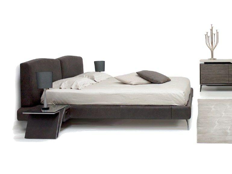床 V073 床 Aston Martin Leather Bed Upholstered Headboard Leather Double Bed