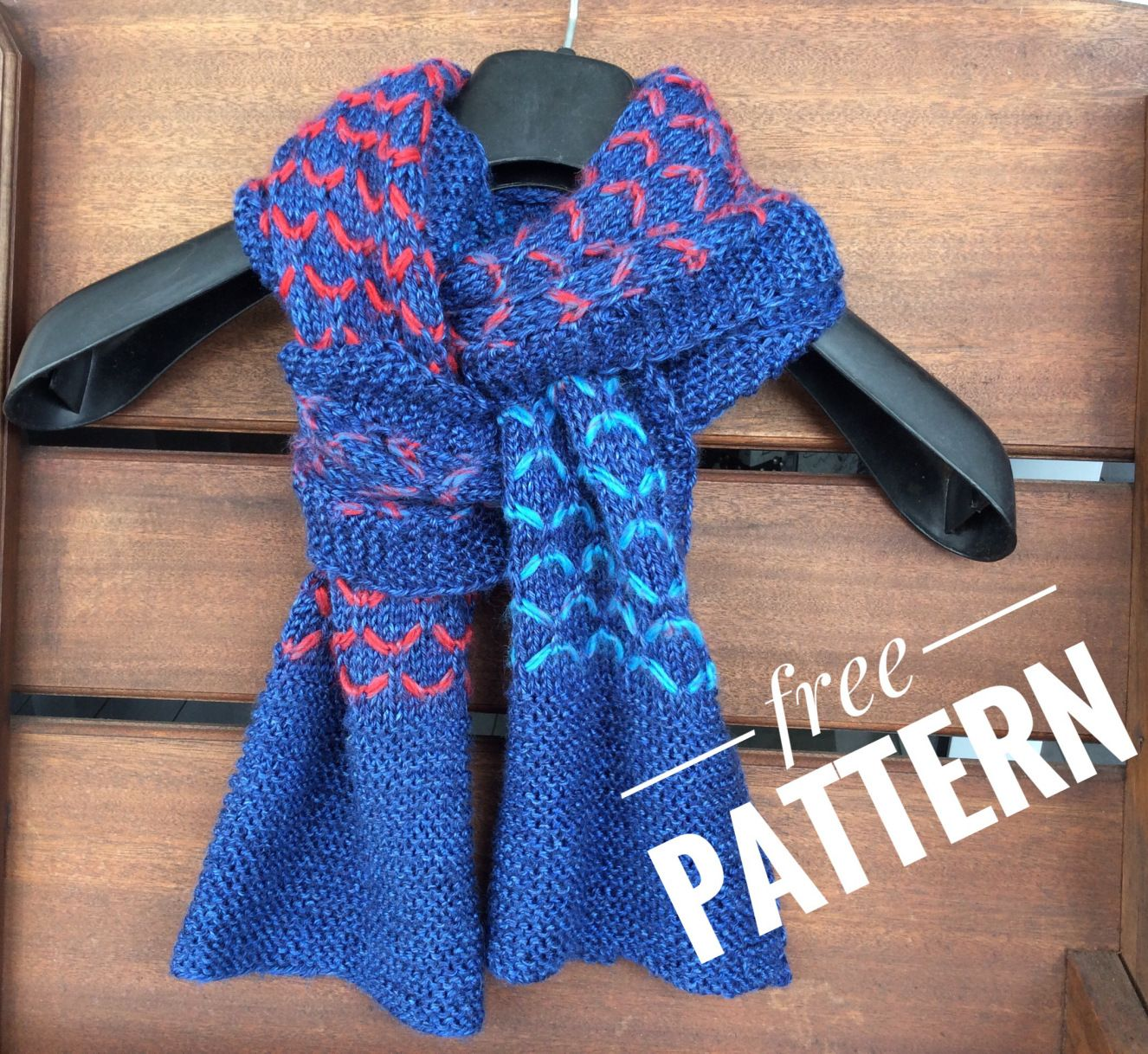 Colour me Through – free scarf pattern | Free pattern, Scarves and ...