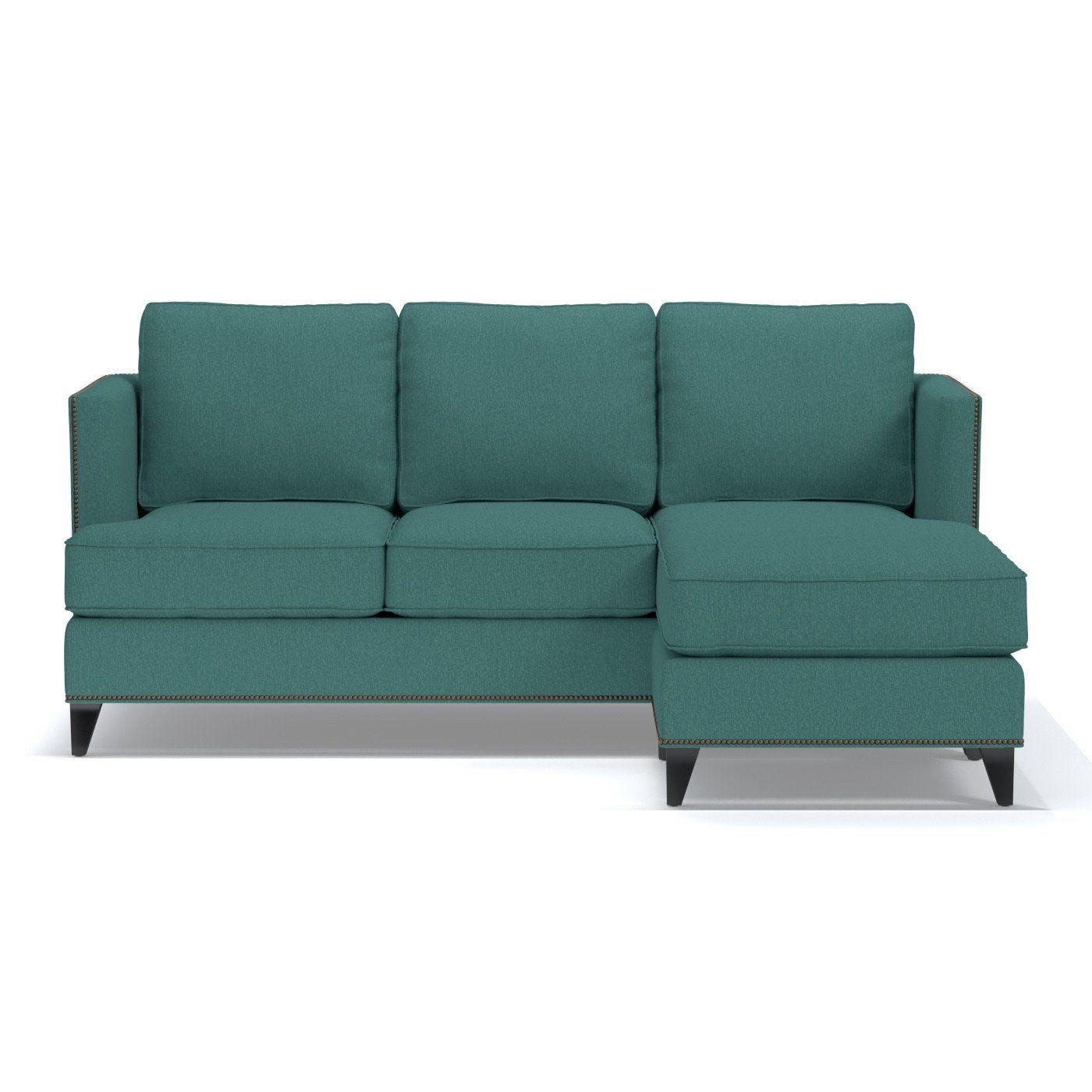 Osborne Reversible Chaise Sofa Leg Finish Pecan Products