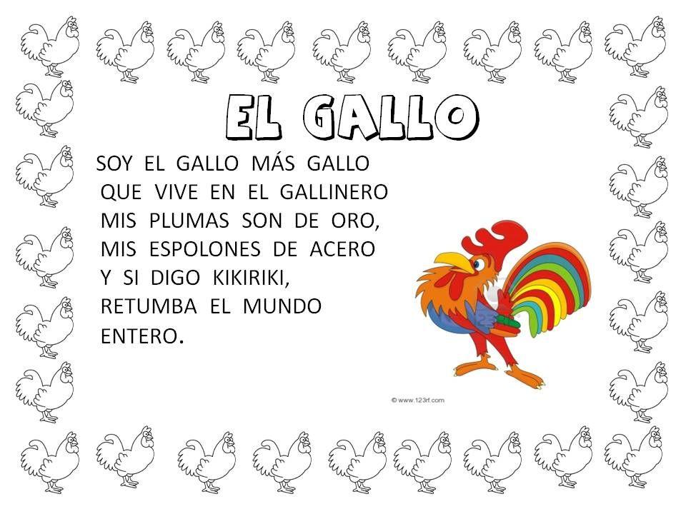 Pin De Alicia Moreno En Poesias Infantiles