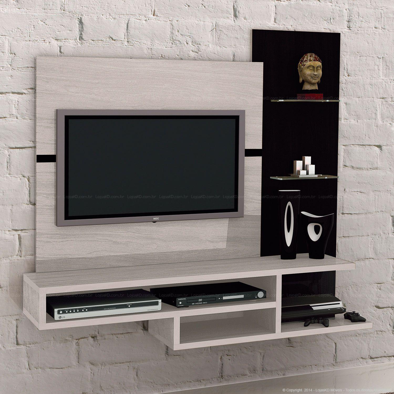 Painel Para Tv Painel Para Tv Com Prateleira Constru O E  # Muebles Cic Bodega