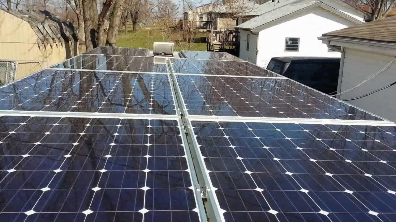 3kw Solar Powered Off Grid Rv Rv Solar Power Solar Panels Solar