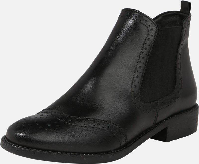 TAMARIS Chelsea boots in Zwart | ABOUT YOU | enkellaarzen