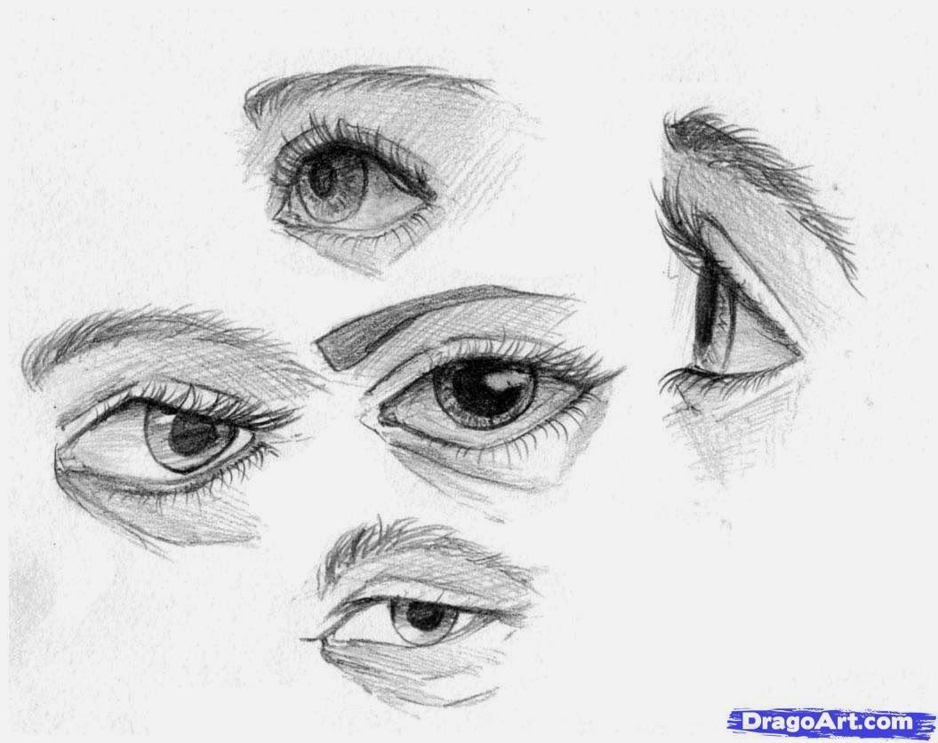Howtosketcheyesstep3_1_000000040543_5g Draw Eyes Etc Pinterest