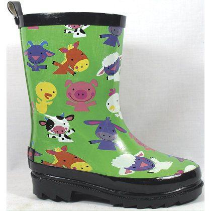 Smoky Mountain Toddler Barnyard Rubber Boots Kids Boots Boots Kids Rain Boots