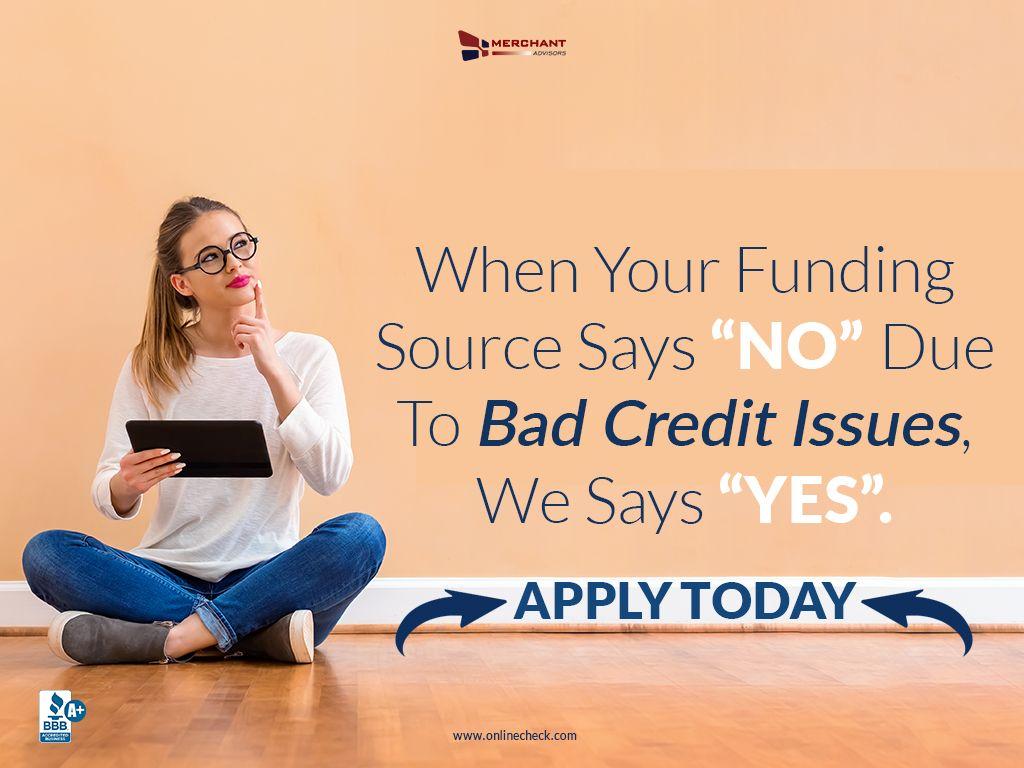 Guaranteed Bad Credit Business Loans Merchant Advisors Business Loans Payday Loans Bad Credit