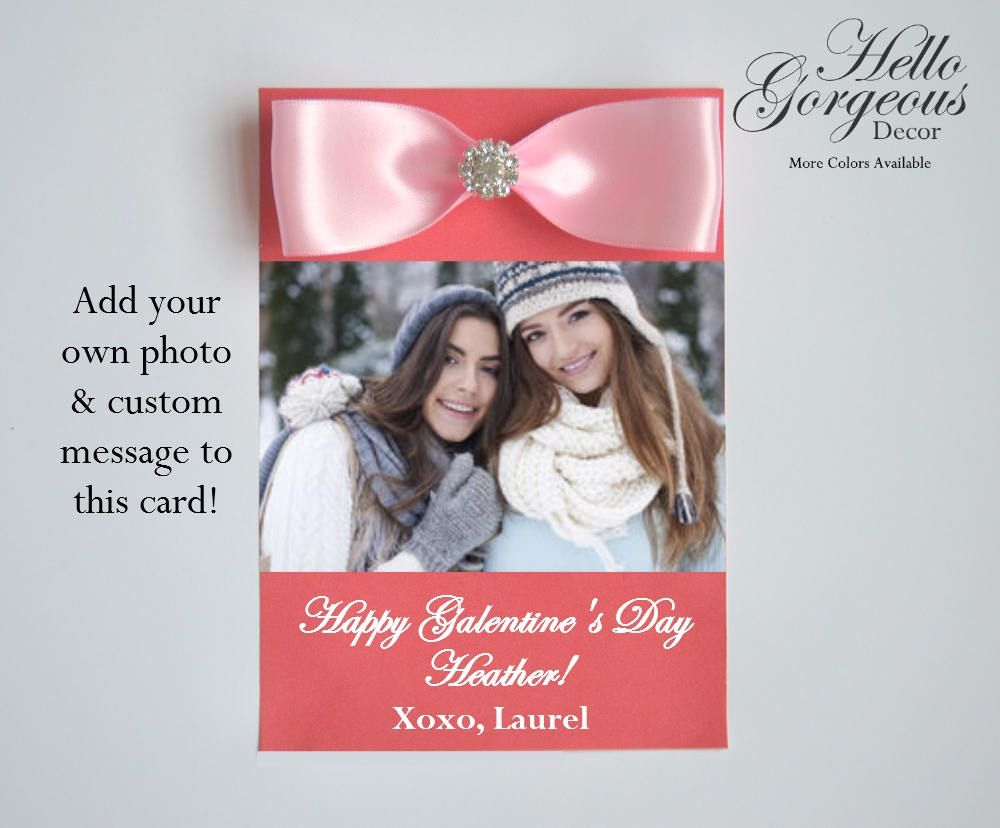 Galentines day card send a valentine to your best friend galentines day card send a valentine to your best friend personalized photo valentines day m4hsunfo