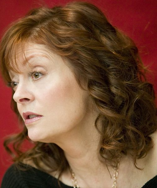 Susan Sarandon Medium Wavy Formal Hairstyle in 2018 | Hair ...