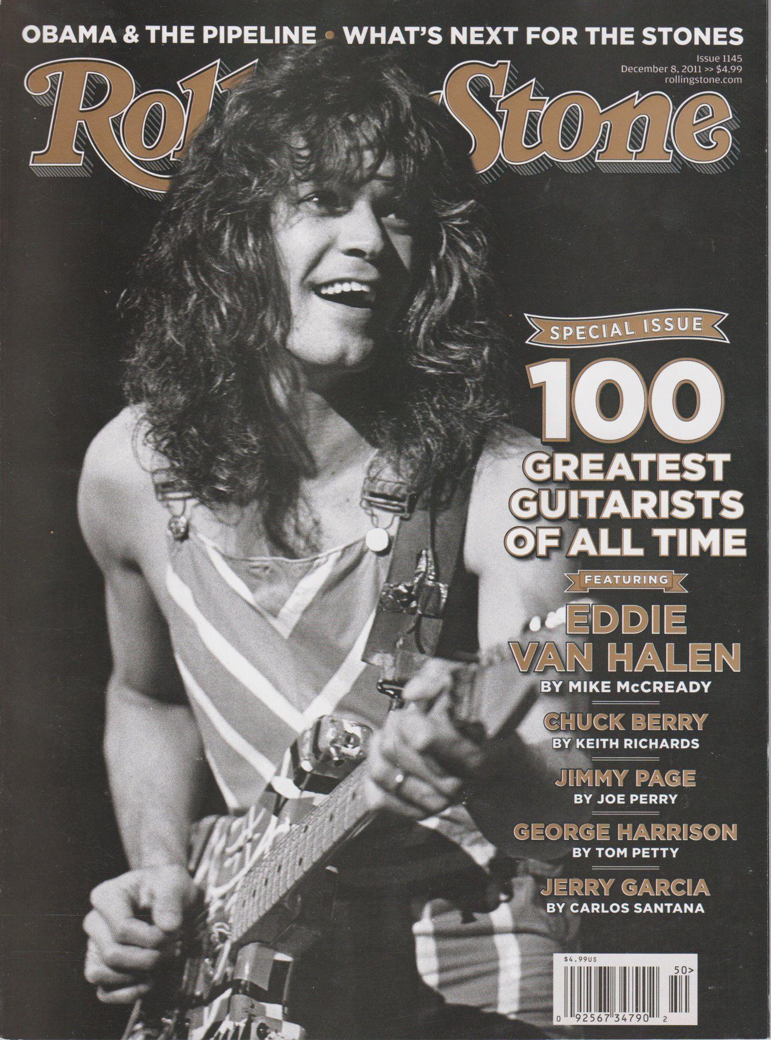 Evh Rs Van Halen Eddie Van Halen Rolling Stones Magazine