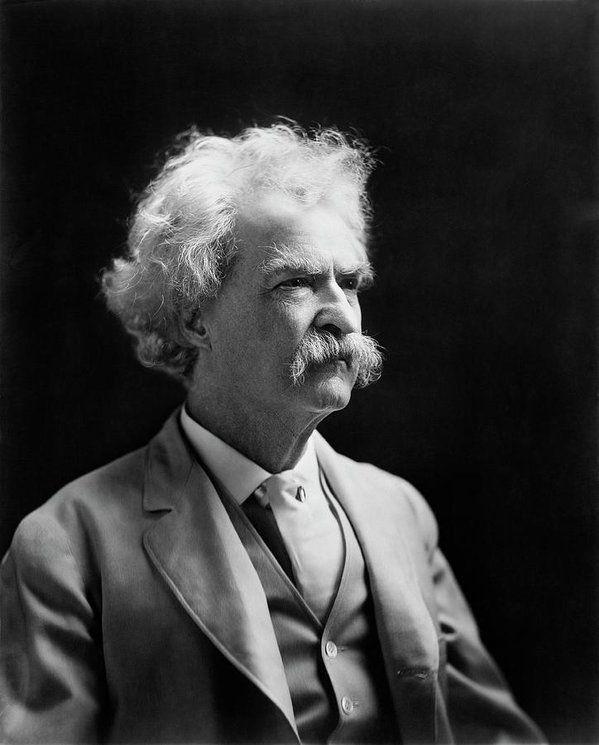 Mark Twain by 𝕬𝖓𝖓𝖒𝖆𝖗𝖎𝖊 Mark twain quotes, Mark twain