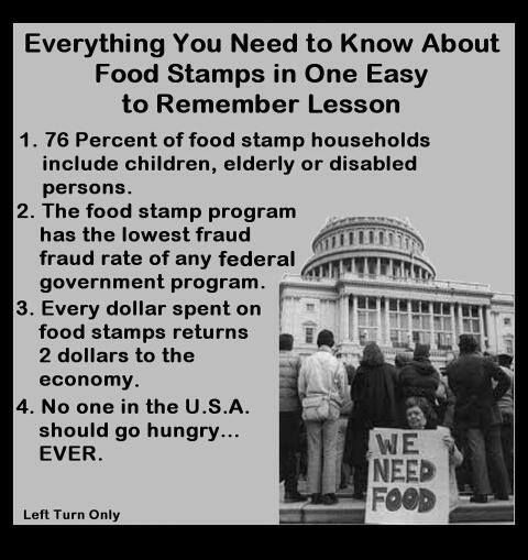 So, basically the republicans that want to cut food stamps will starve children, disabled people and the elderly; and they call themselves christians?