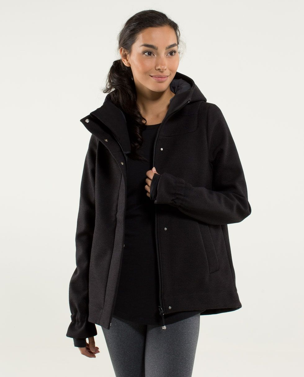Studio Softshell Tweed Women S Outerwear Lululemon Athletica 228 Clothes Technical Clothing Lululemon Coat [ 1215 x 980 Pixel ]