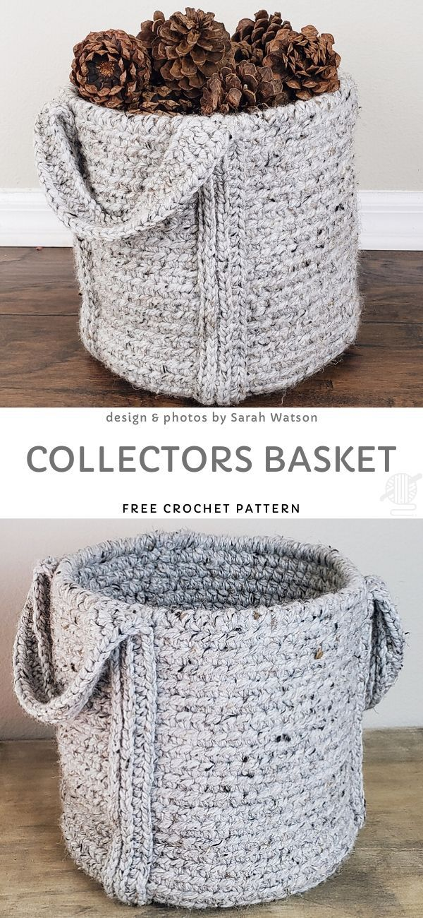 Collectors Basket Free Crochet Pattern