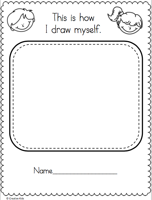 Kindergarten Drawing Worksheets - Cinebrique