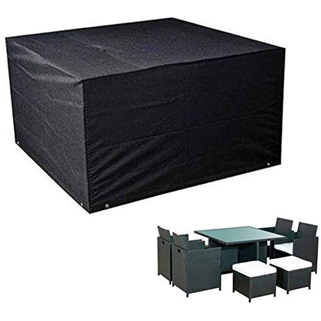 Ggymei Housse Protection Salon De Jardin Couverture Cube Mobilier