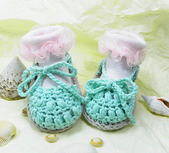 Maglia bambino Sandali, espadrillas bambino, estate scarpe bambino, scarpe bambino cotone, estate scarpe neonato, READY TO SHIP
