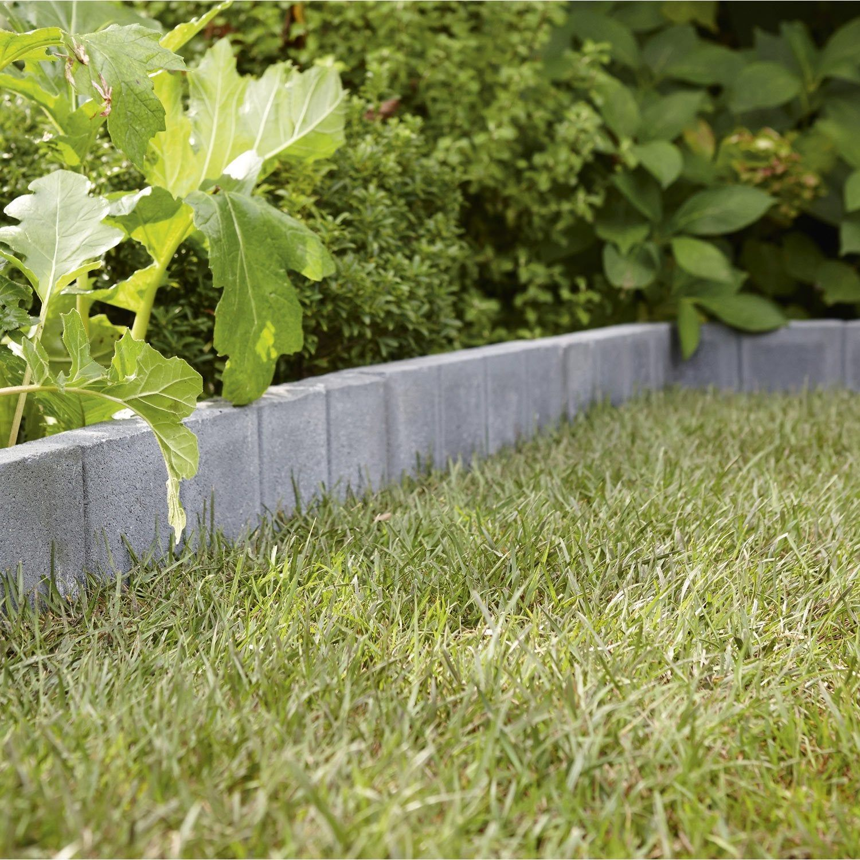 Bordure Droite Quadra Beton Gris Ardoise H 20 X L 50 Cm Gris Ardoise Deco Exterieur Jardin Terrasse Beton