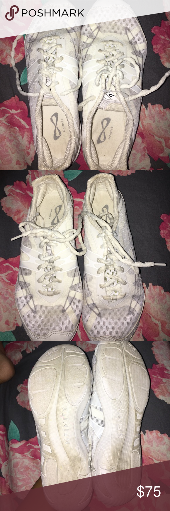 Nfinity Vengeance Cheer Shoes Size 8 5 Cheer Shoes Shoes Nfinity