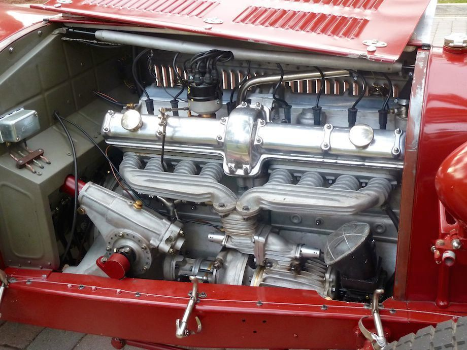Pur Sang 8C 2300 Monza Engine Compartment Alfa romeo
