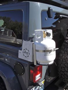 Jeep Jk External Corner Mount For Propane Bracket