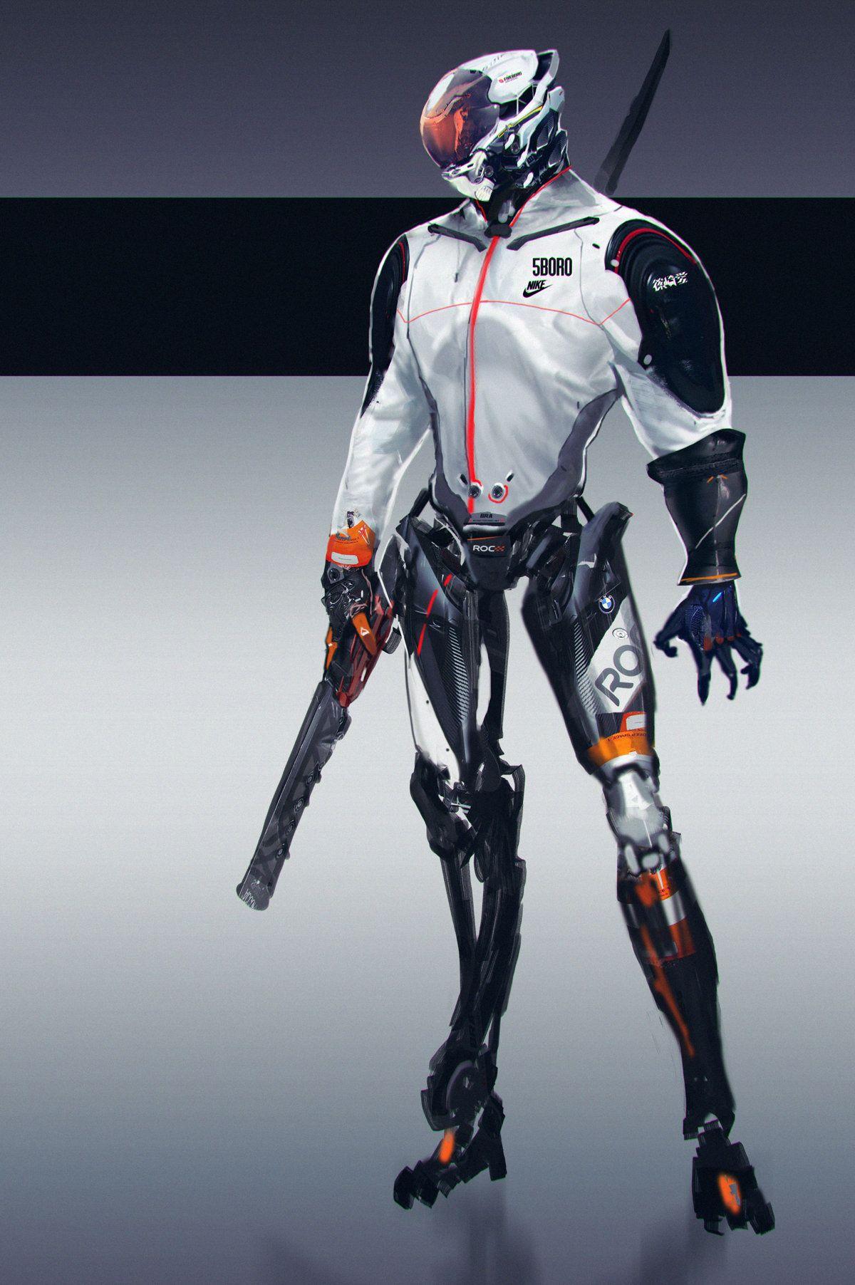 Here Cool Robots Robot Sci Fi And Cyberpunk