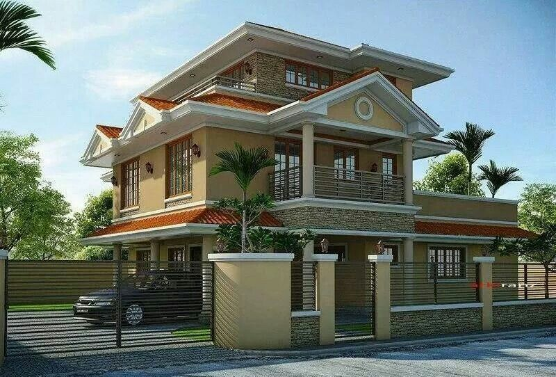3 Storey House Beautiful House Plans Beautiful Homes Beautiful Houses Exterior