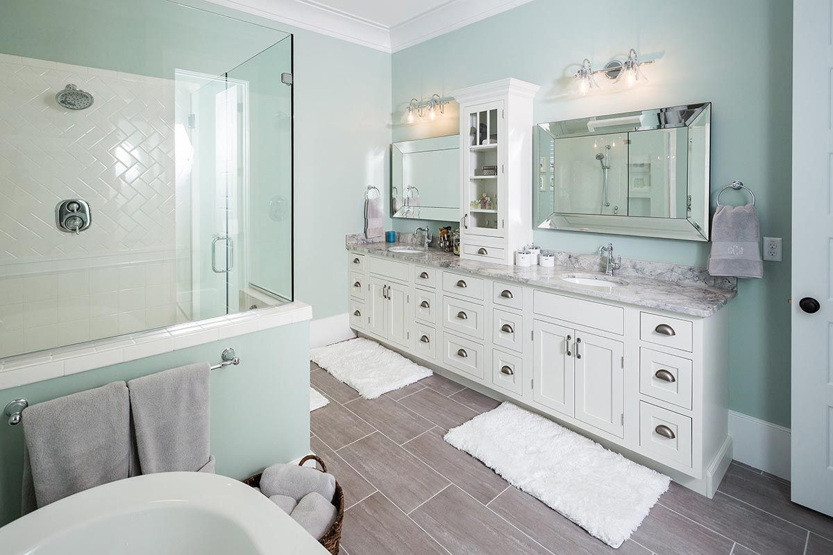 Beautifully Designed New Construction Home Features Master Bath