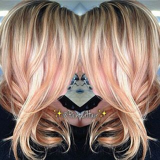 Rose Gold Blonde Regrann From Fanola Usa Blonde