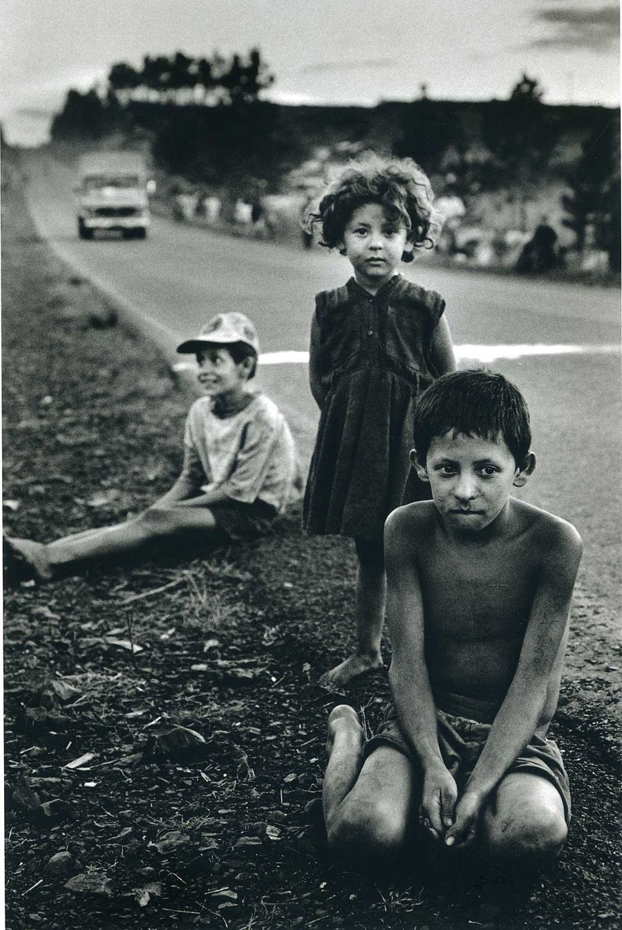by Sebastião Salgado - From Terra: Struggle of the Landless, 1997, about the hard life of Brazilian peasants.